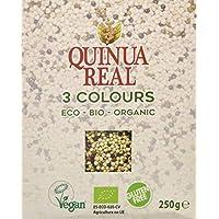 Quinua Real, Quinoa integral (Tricolor) - 6 de 250 gr. (Total 1500 gr.)