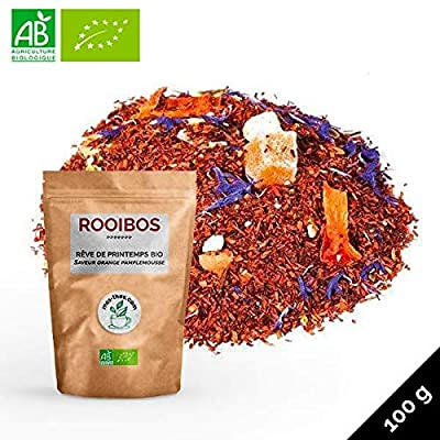 Rooibos Rêve de printemps Saveur orange pamplemousse ? BIO ? 100g