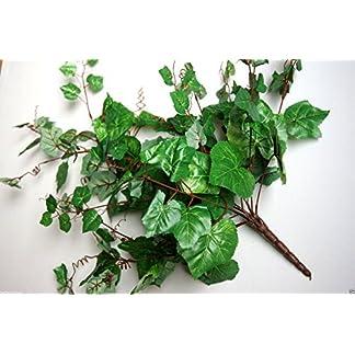 De hojas de hiedra Begonia artificial de hojas de hiedra y flores de las plantas de hojas de hiedra de animales Silvestres de arte hojas verdes B042