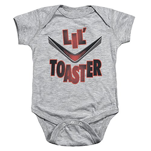 Battlestar Galactica Kleinkind Lil Toaster Onesie, 24 Months, Athletic Heather