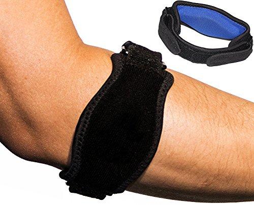 Aptoco 2abrazaderas para alivio del dolor en el codo, tendonitis, co