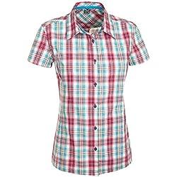 SALEWA Bluse 2.0 Dry W Short Sleeve Shirt - Camisa/Camiseta para Mujer, Color (m lesgets sn/Tar/pag), Talla 3XL