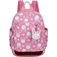 Uworth Mochila Escolar Infantil Guarderia Niña Mochila Para Niños Conejo