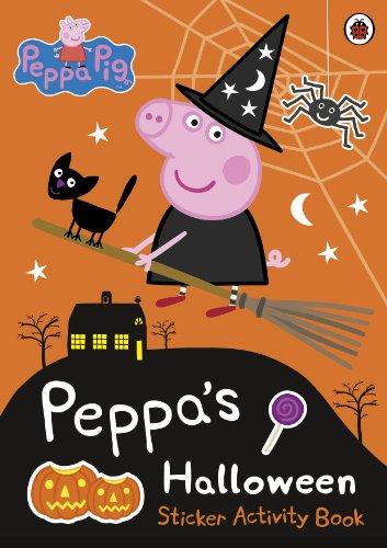 Peppa Pig: Peppa's Halloween Sticker Activity (Halloween Peppa Pig)