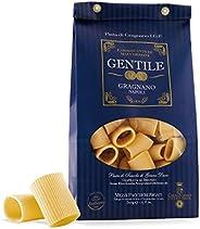 Pastificio Gentile - Mezzi Paccheri Rigati Pasta de Gragnano 500g