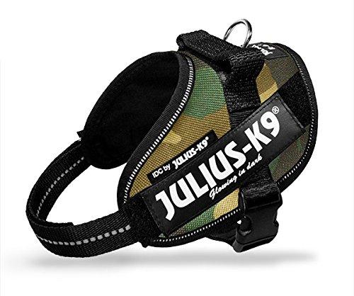 Sicherheitsgurt Julius-K9 IDC Powerharness Camouflage Mini-Mini - Beständig Tarnung bib, verstellbares Nylon, für Hunde (Bib Tarnung)