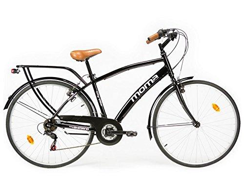 bicicletta-passeggio-citybike-shimano-alluminio-18-velocit-ruota-da-28