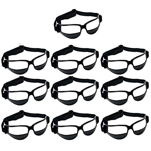 Faviye Sport-Brille, Basketball, Sicherheits-Brille, für Basketball, Trainingshilfe, B, 10 x 6 x 4 cm
