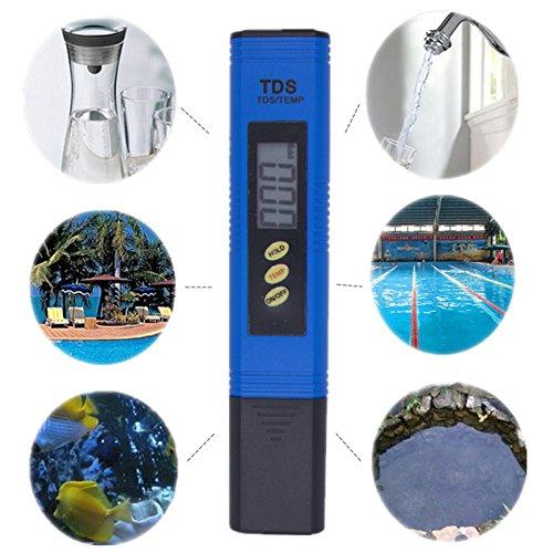 Inovey Digital Tds Automatische Wasser Tester Titan Probe Aquarium Pool Wasserqualität Test Monitor
