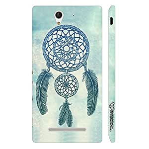 Sony Xperia C3 WEAVE A DREAM designer mobile hard shell case by Enthopia