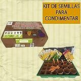 Kit de cultivo de plantas aromáticas para condimentar