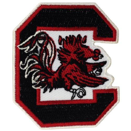 South Carolina Gamecocks Logo Embroidered Iron Patches-Toppe da applicare con ferro da stiro