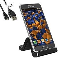 mumbi USB Dock für Samsung Galaxy Alpha Dockingstation / Ladestation + USB Datenkabel