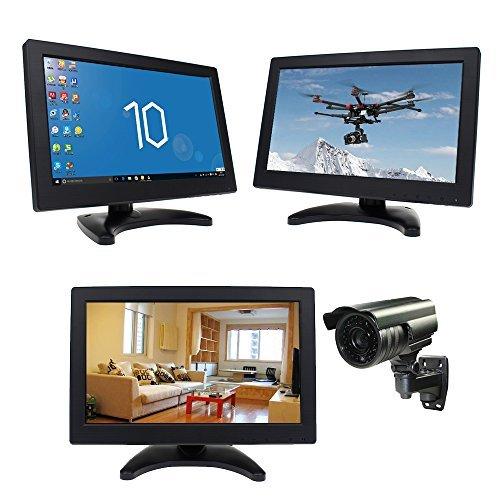 "Eyoyo 12""Inch TFT LCD CCTV HDMI HD Monitor Color Screen with AV/HDMI/BNC/VGA/TV Function For Car DSLR & PC & DVD & Car Backup Camera"