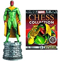 MARVEL CHESS FIGURINE COLLECTION MAGAZINE #23 VISION WHITE ROOK by Eaglemoss Publications