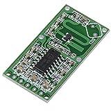 Wenquan,Conseil de Module de commutateur d'induction de Corps Humain de capteur de Radar à hyperfréquence Intelligent(Color:Vert)...