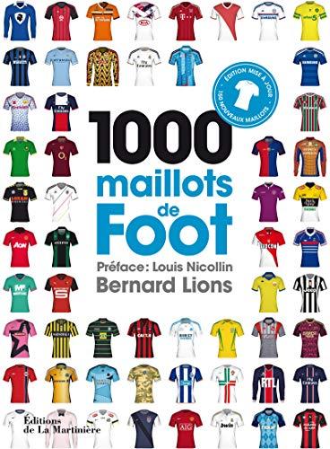 1000 maillots de foot par Bernard Lions