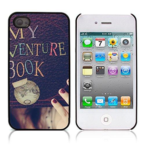 Graphic4You I Will love you Design Harte Hülle Case Tasche Schutzhülle für Apple iPhone 4 und 4S Design #12
