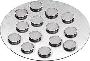 magnete 10x2 mm extra stark sehr klein 12 st ck beutel einkaufswagen chip gratis amazon. Black Bedroom Furniture Sets. Home Design Ideas