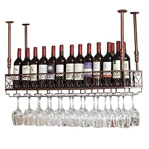 Wein-Glas-Rack, Metall-Becherhalter-Ausstellungsstand ist leicht zu platzieren (Größe: 50 x 25 cm), 120 × 25cm