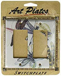 Art Plates - Dragonflies Switch Plate - Double Rocker