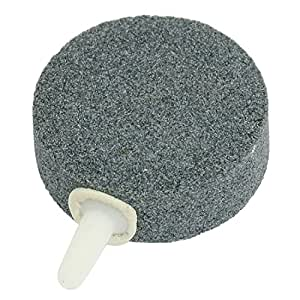 Gray Round Shape Air Pump Airstone for Aquarium Tank Fish