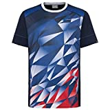 Head Medley Camiseta, Hombre, Royal Blue/Red, Large