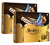 #9: Snickers Medley Assorted Chocolate Gift Pack, 137.6 gm (Pack of 2)