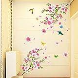 KEERADS Stickers Muraux, Horloge de décoration créative Acrylique Murale Acrylique...