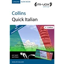 Collins Quick Italian (Mi-Vox Pre-loaded Audio Player)