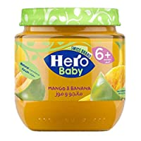 Hero Baby Mango Banana Jar, 170751, 125 gm