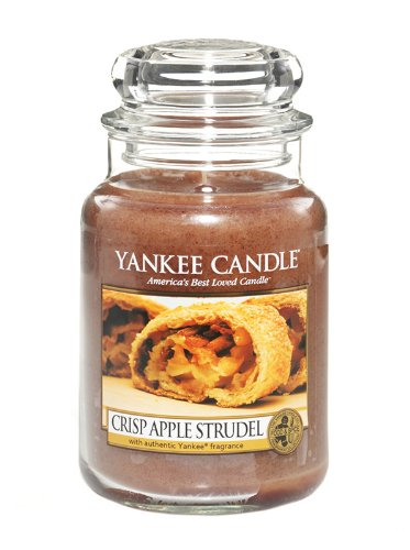Yankee candle Treasures Duftkerze Jara Crisp Apple Strudel, Mehrfarbig (Wreath Red Yankee Candle Apple)