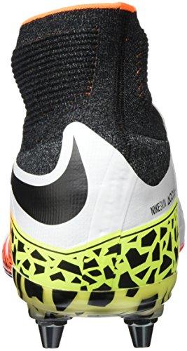 Nike Herren Hypervenom Phantom II SG-Pro Fußballschuhe Weiß (White/Black-Total Orange-Volt)