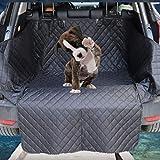 YZONG Premium wasserfeste, Rutschfeste Hundeautositzbezüge für den Rücksitz von PKW/LKW / SUV (gesamter hinterer Sitz), strapazierfähiges Oxford-Gewebe