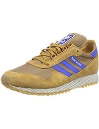 Adidas Seeley Mid - Zapatillas para Hombre, Color Azul/Negro/Blanco, Talla 41 1/3