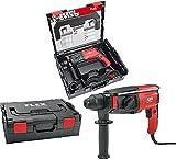 Flex CHE 2-28 Bohr- und Meißelhammer mit 800W und SDS Plus inkl.7-teiliges Bohrer Meißelset und Transportkoffer L-BOXX® 452.327 Universal Gerät für Handwerker und Baustellen
