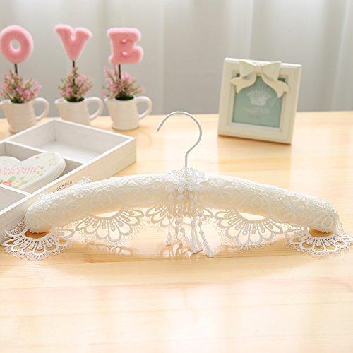 Lace Hochzeit Kleid Hänger Home Kleiderbügel Anti-rutsch Nahtlose Racks-A