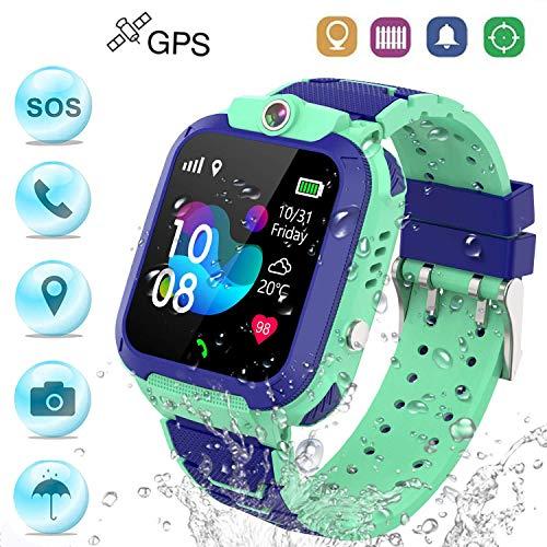 Winnes Reloj Inteligente Niño, Reloj Smartwatch Niños Niña GPS Soporte GPS +...