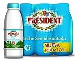President Leche Semidesnatada 6 X 1500 ml= 9L