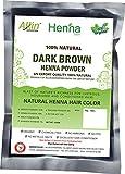 Dark Brown Henna Hair Color - 100% Organ...