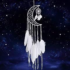 Weiß Handgemachte Mond