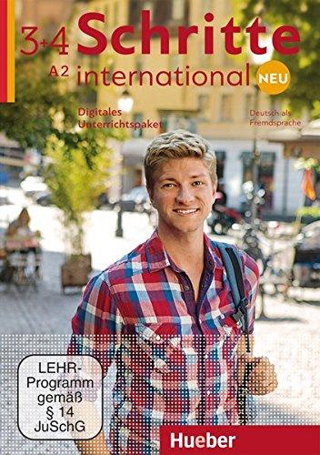 Schritte international Neu 3+4: Deutsch als Fremdsprache / Digitales Unterrichtspaket