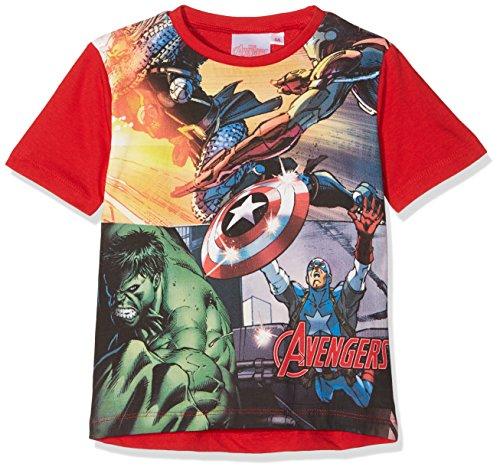 The Avengers Boy's Comic's N Patch T-Shirt