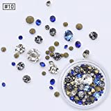 ZZTTTT Nagel/Schmuck/Scharfer Bodenbohrer/Rund/Solid/Mixed/Magic/Bunte Nägel/Spezialbohrer, Fingernagel Bohrer -10