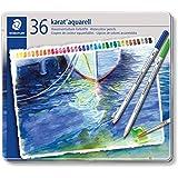 Staedtler Karat Aquarell Premium 125M36 Watercolor Pencil (Set of 36 Colors)