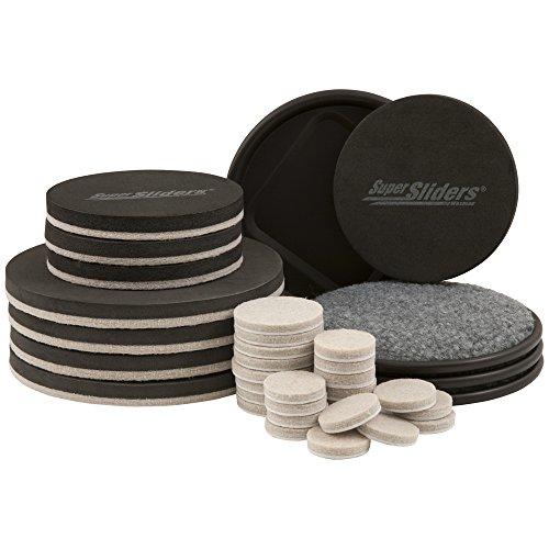 Hard Boden Möbel beweglichen Kit-(36Stück) supersliders -