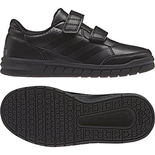 adidas AltaSport CF K, Chaussures de Gymnastique Mixte Enfant, Noir (Core Black/Core Black/FTWR White), 33.5 EU