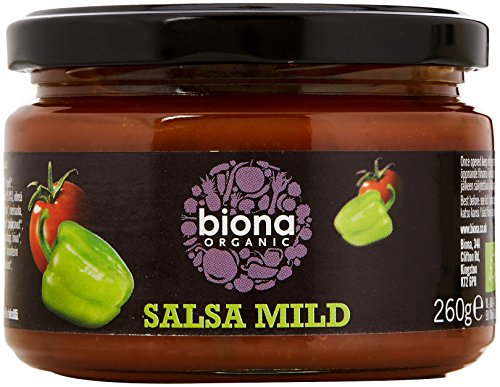 Health Care 6 Packs Of Biona Salsa Dip Hot 260g