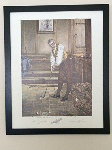 Golf II - Walter Dendy Sadler - Vintage print - Size - 50cms x 40cms