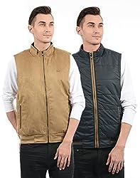 Monte Carlo Mens Cotton Jacket (217039515-2_Camel Navy_44)